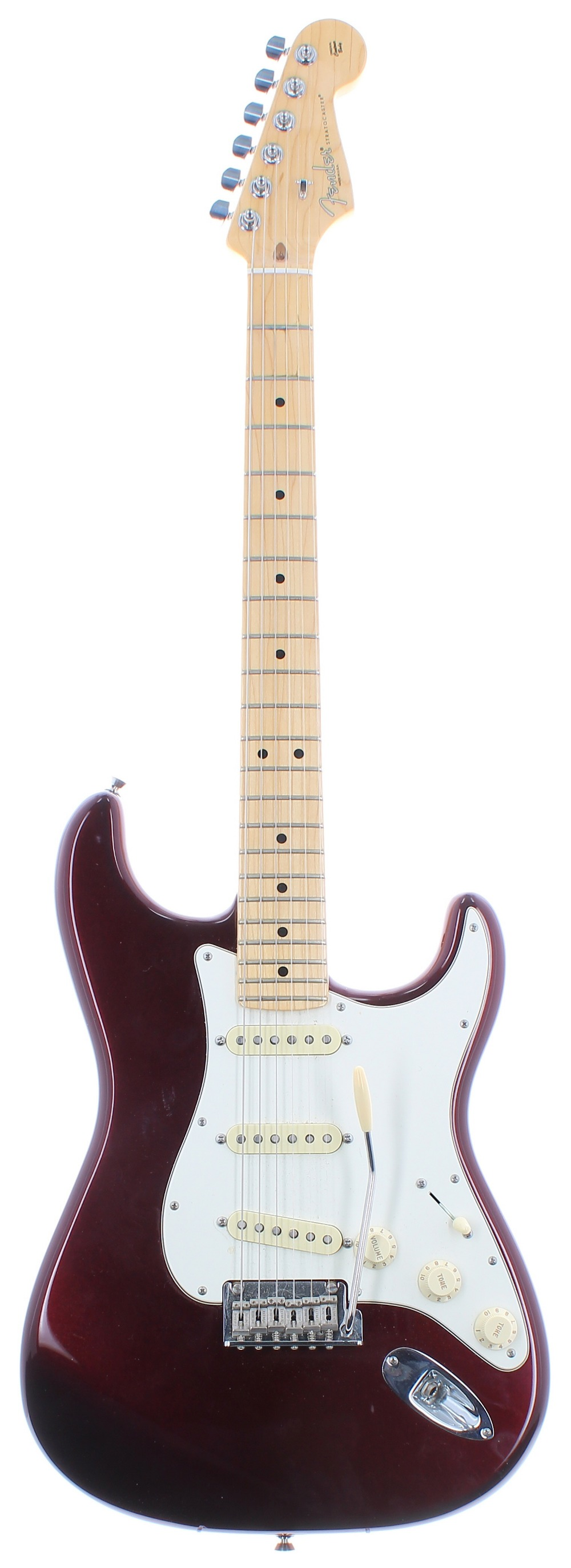 2015 Fender American Standard Stratocaster electric guitar, made in USA, ser. no. US15xxxxx5;