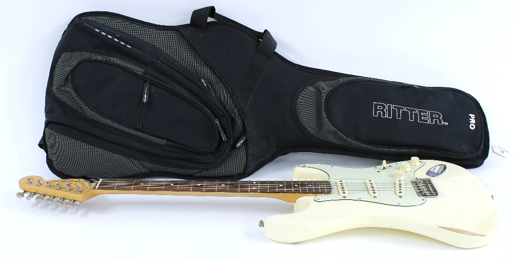 2014 Fender Road Worn Series 60s Stratocaster electric guitar, made in Mexico, ser. no. - Image 3 of 3