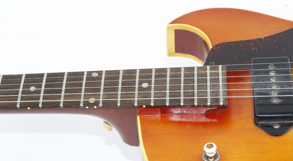 1966 Gibson ES-125 TDC electric guitar, made in USA, ser. no. 4xxxx9; Finish: sunburst, lightly - Image 6 of 13