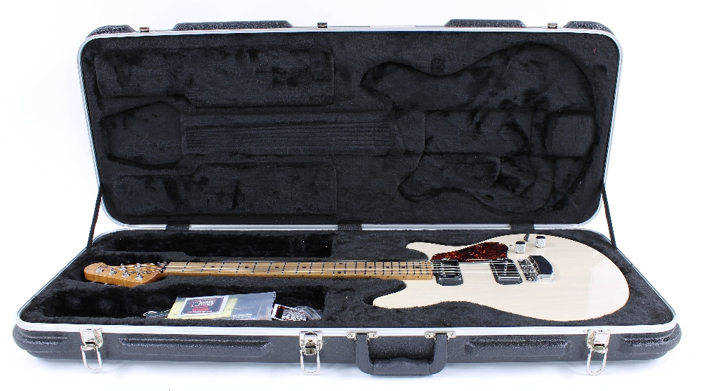 2016 Ernie Ball Music Man Valentine electric guitar, made in USA, ser. no. G7xxx5; Finish: trans - Image 3 of 3