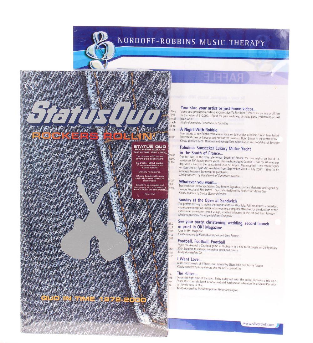 Status Quo - Francis Rossi and Rick Parfitt Signature Edition Fender Telecaster electric guitars, - Image 6 of 6