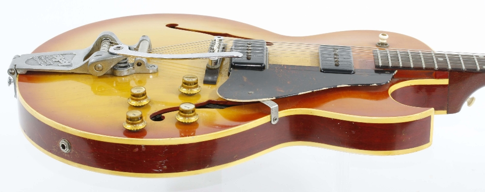 1966 Gibson ES-125 TDC electric guitar, made in USA, ser. no. 4xxxx9; Finish: sunburst, lightly - Image 8 of 13