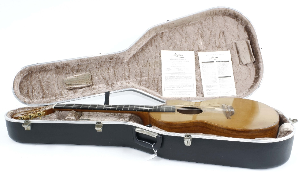 1991 George Lowden S25J nylon string electro-acoustic guitar, made in Northern Ireland, ser. no. - Image 3 of 3