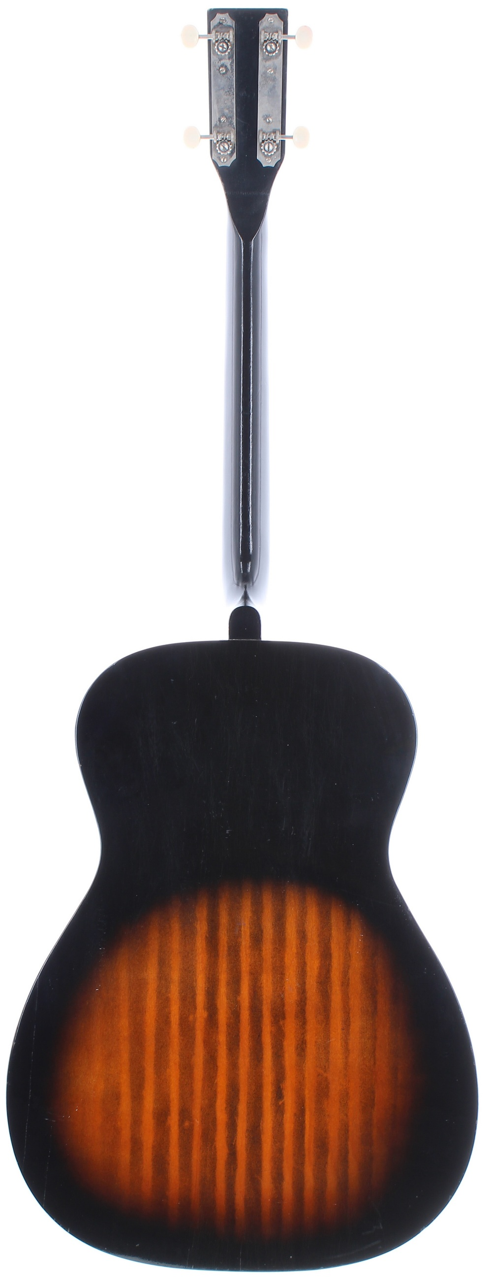 1960s Harmony Stella H929 left handed conversion tenor guitar, made in USA; Finish: sunburst, re- - Image 2 of 11