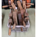 Quantity of 'Jorgensen' adjustable clamps, most branded 'W E H'
