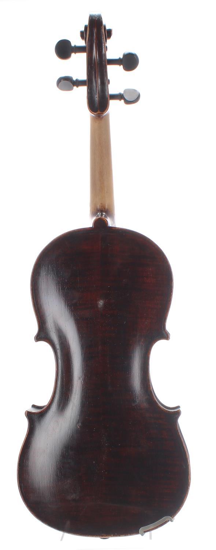 "19th century German violin, 14 1/4"", 36.20cm - Image 2 of 2"