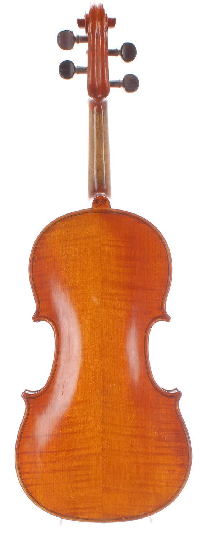 French violin labelled Fait sous la Direction de Leon Bernardel, Luthier, Paris and also labelled - Image 2 of 2