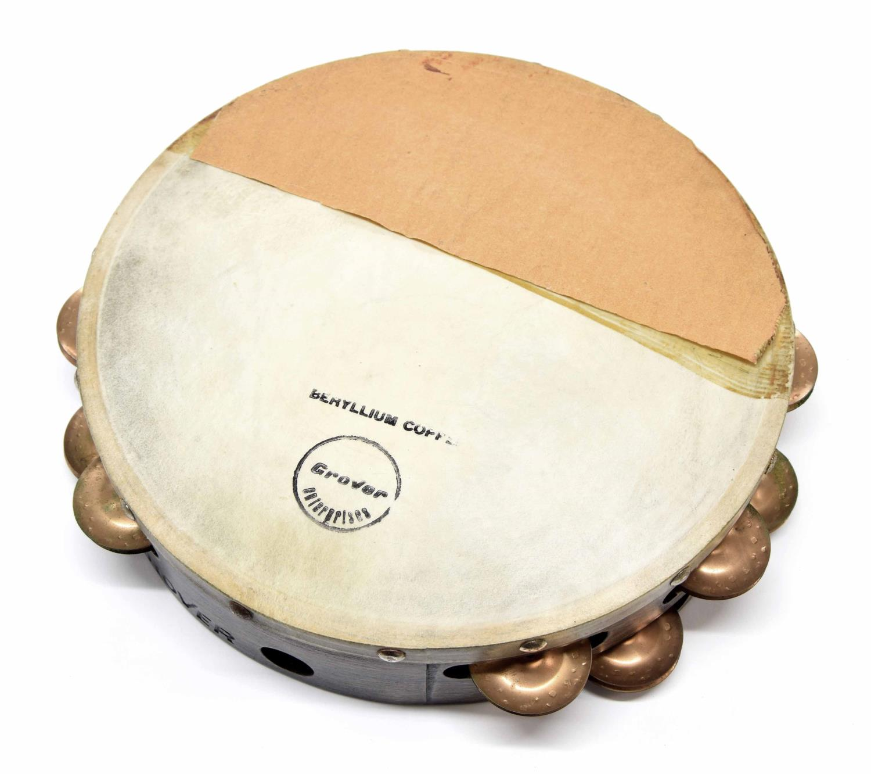"""Paul Chalklin - Grover 10"""" Beryllium Copper tambourine"""