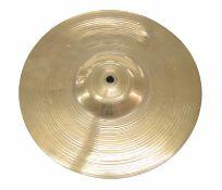 "Paul Chalklin - 1920s Zildjian Constantinople 14"" crash cymbal, bearing the maker's signature to the"