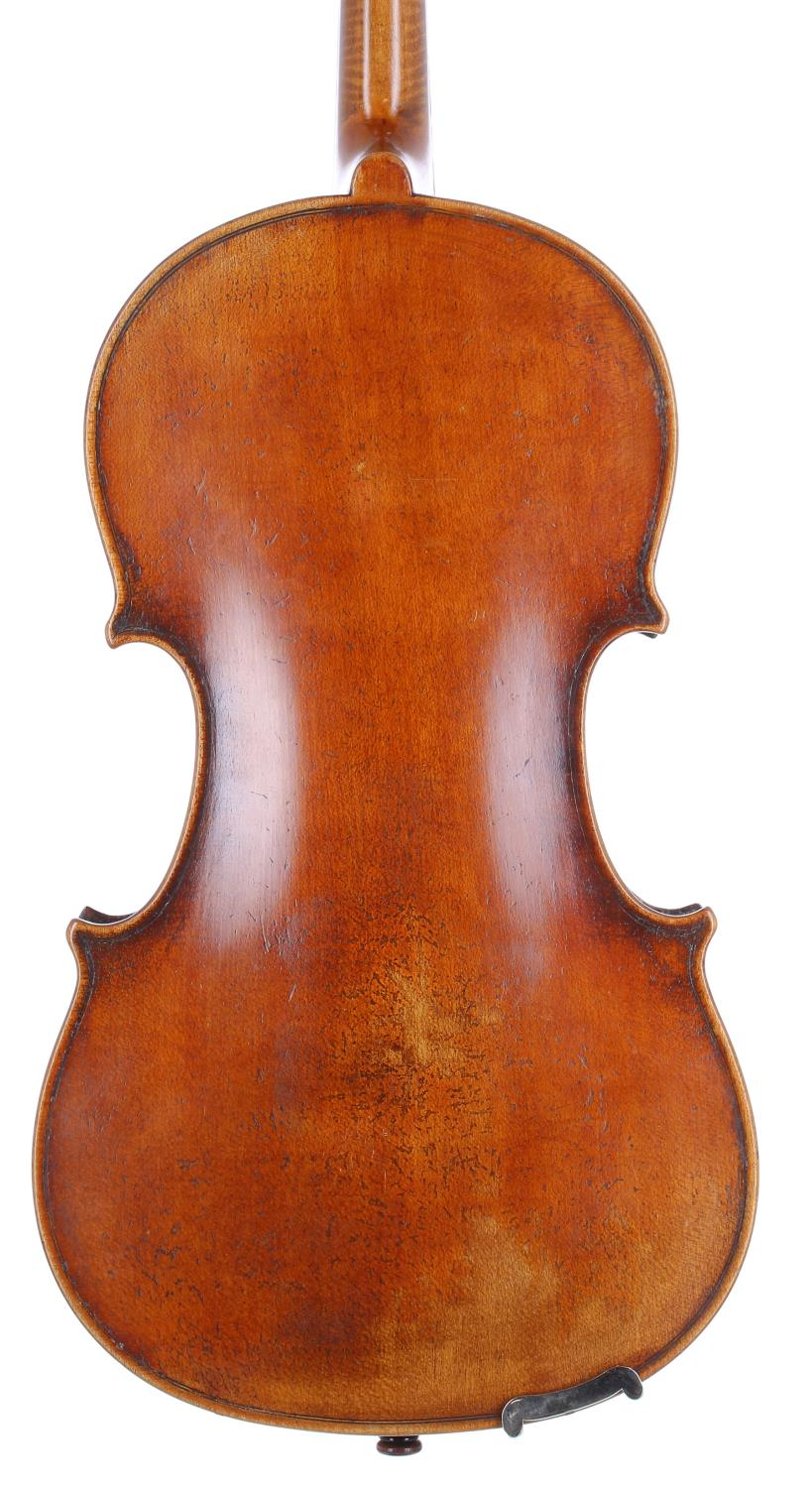 Good French violin of the Caussin School circa 1890 and labelled Antonius Stradivarius..., the one - Image 2 of 3