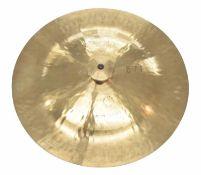 "Paul Chalklin - Wuhan 17"" china type cymbal, within a Sabian cymbal bag"