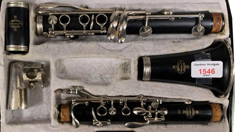 Buffet Crampon & Cie B12 clarinet, case