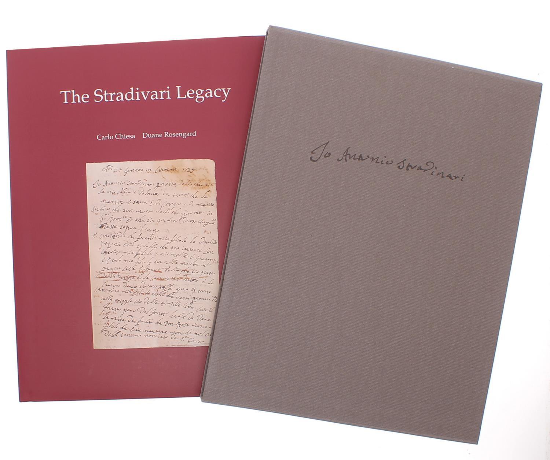 Carlo Chiesa and Duane Rosengard - The Stradivari Legacy, published by Peter Biddulph, London