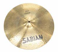 """Paul Chalklin - Sabian 16"""" Thin Crash cymbal"""