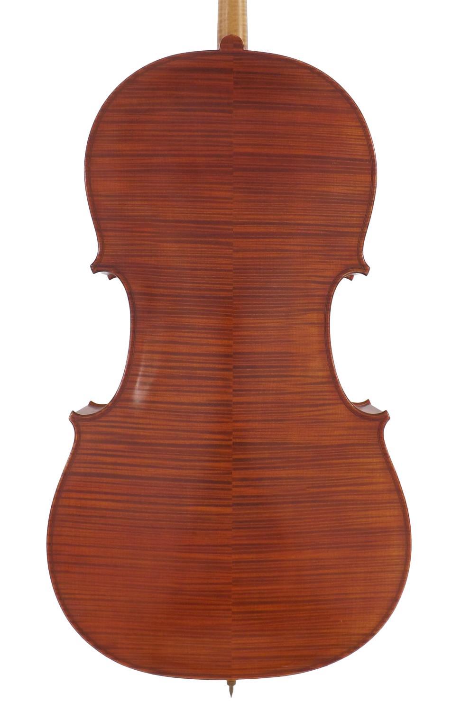 Contemporary violoncello labelled Sevola Cremonese, Fratelli Molini Carlo & Giorgio, fecit Parmae - Image 2 of 3