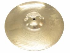 "Paul Chalklin - Zildjian Genuine Turkish 12"" medium crash cymbal, bearing the maker's signature to"
