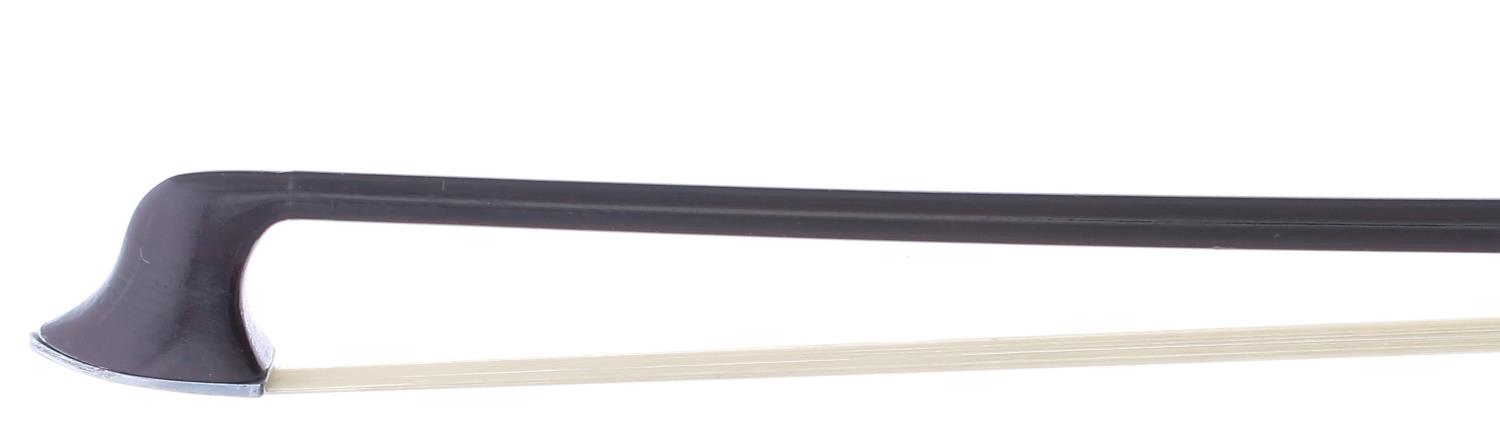 Rare American or English Patent metal violin bow, inscribed on the frog slide John Grey PAT. 14241/ - Image 2 of 2