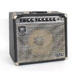Music Man 110 RD Fifty guitar amplifier, made in USA, ser. no. LN02064