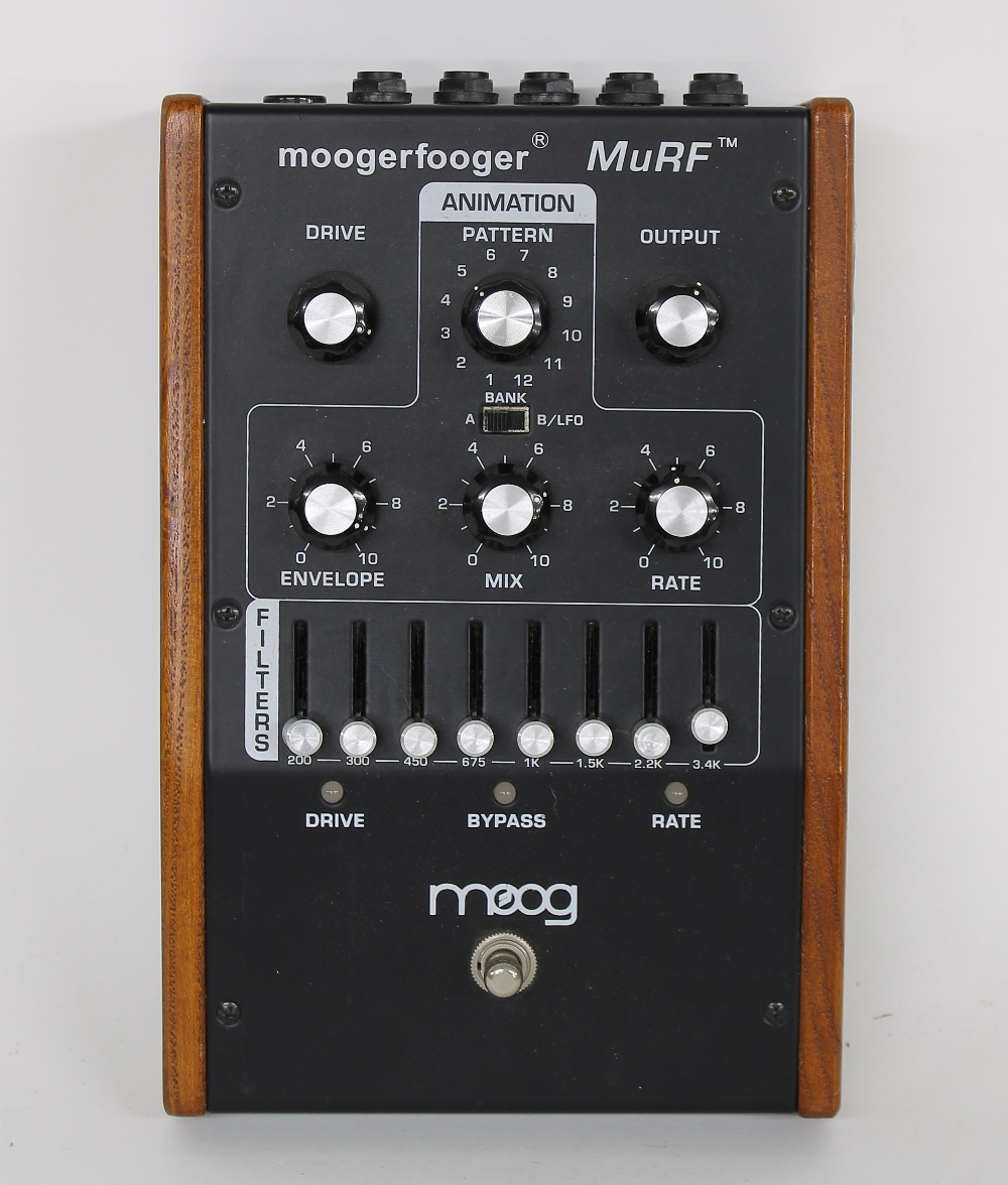Moog Moogerfooger Murf Model MF-105 effects unit, made in USA