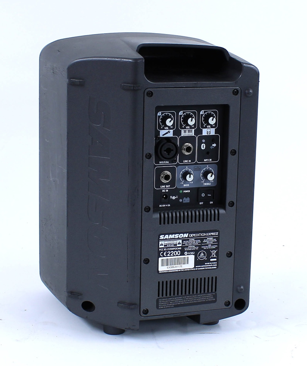 Samson Expedition Express CCRXPEX360 portable PA speaker - Image 2 of 2