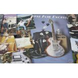 Collection of Zemaitis members only guitar magazines, published by the Zemaitis Club; together