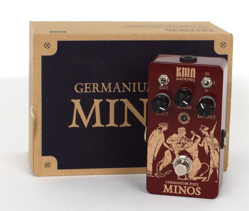 New and boxed - KMA Audio Machines Minos Germanium Fuzz guitar pedal