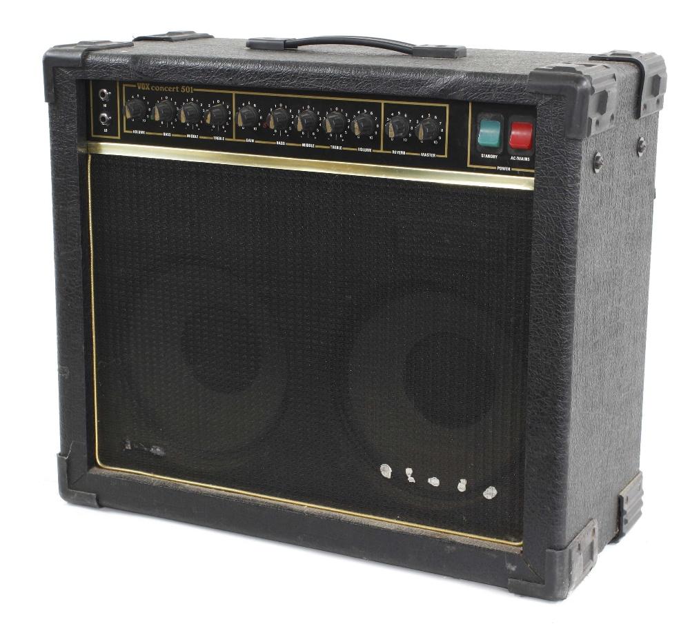 Vox Concert 501 guitar amplifier
