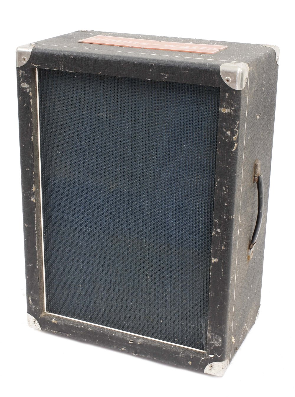 """Simms-Watts 2 x 12 guitar amplifier speaker cabinet, fitted with a Sound Lab and Fane 12"""" speakers"""
