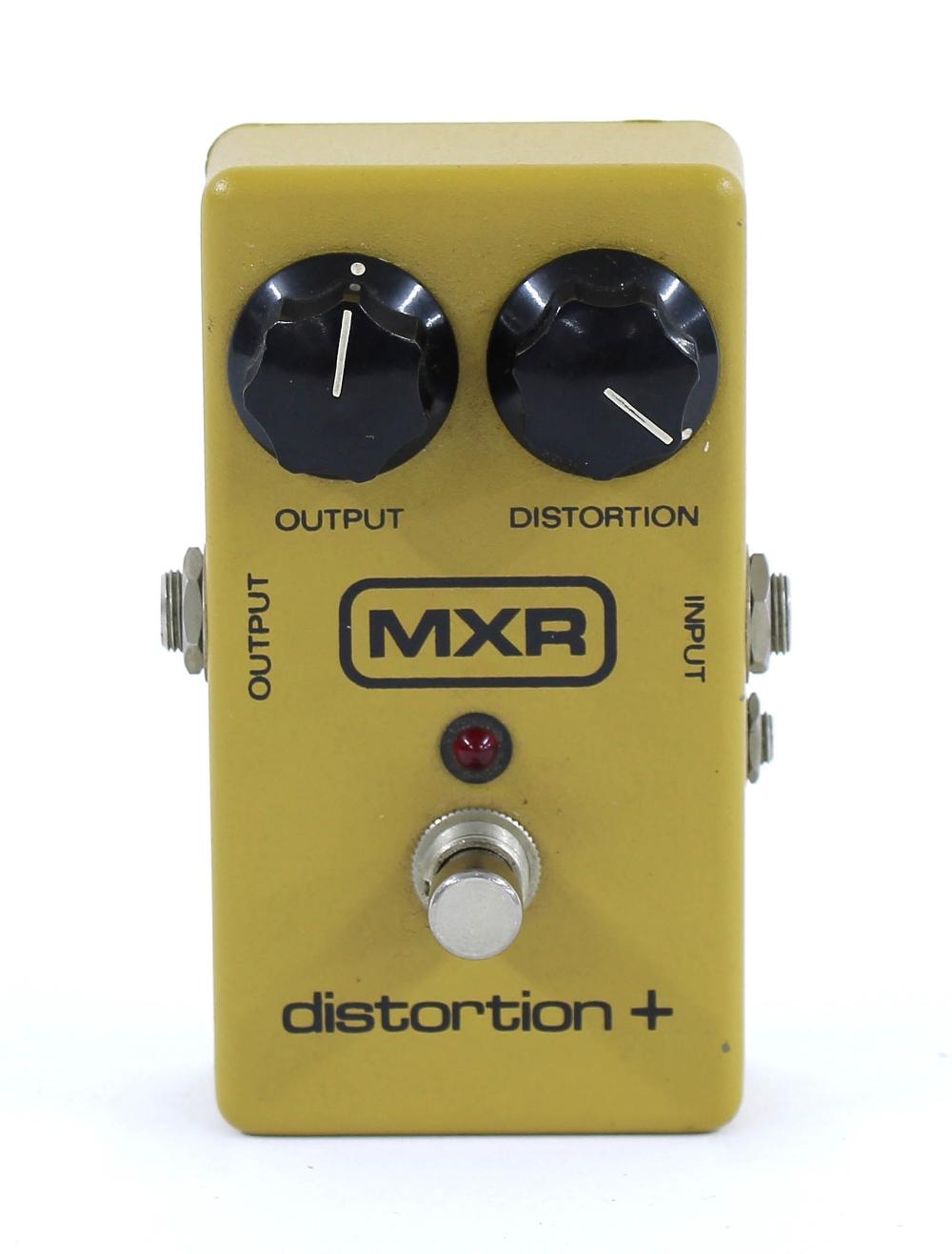 MXR Distortion+ guitar pedal