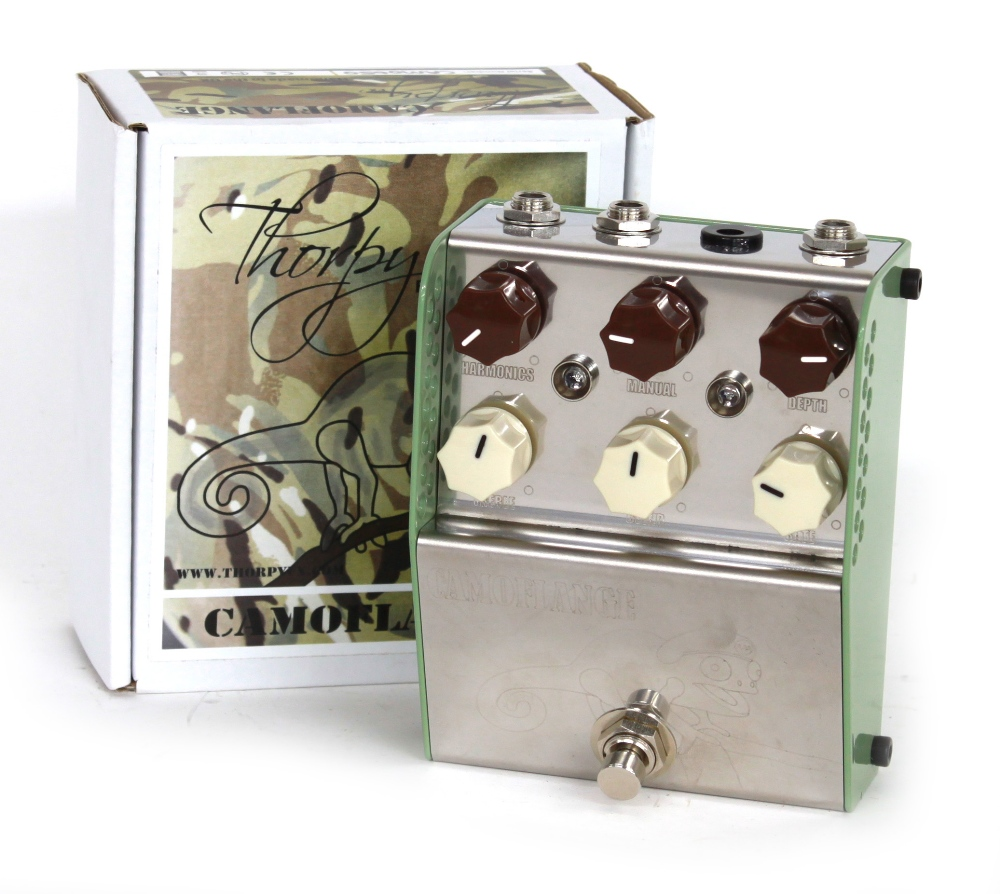 New and boxed - Thorpy FX Camoflange guitar pedal