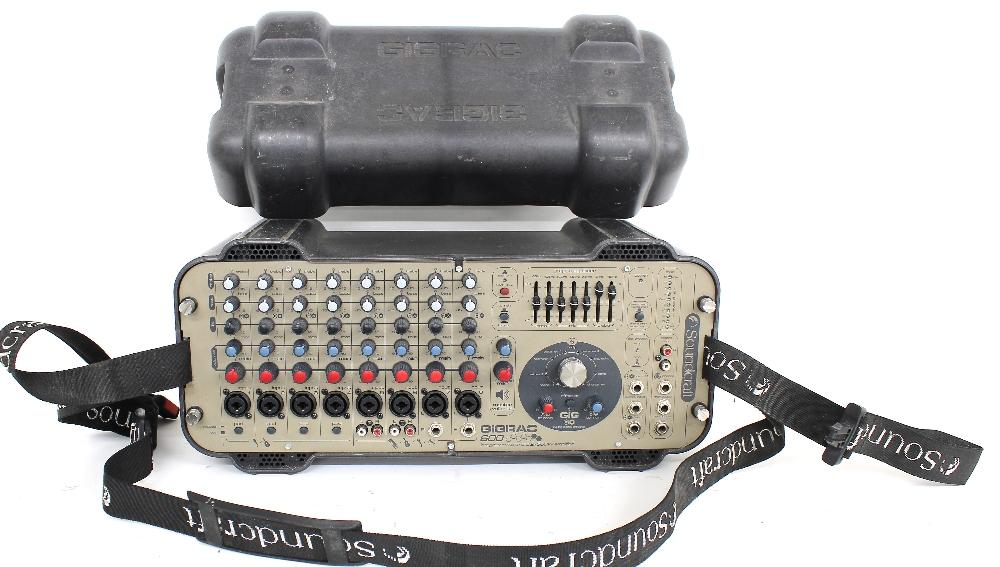 Soundcraft Gigrac 600 portable PA head