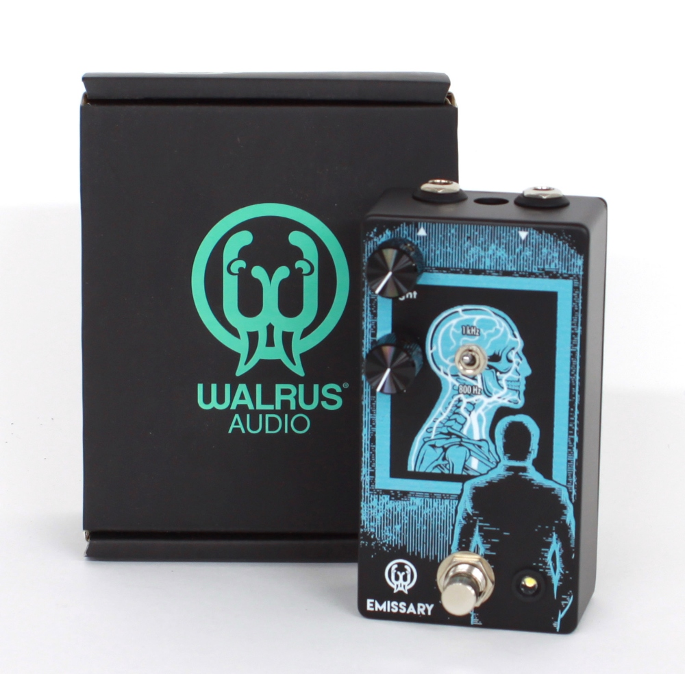 New and boxed - Walrus Audio Emissary guitar pedal
