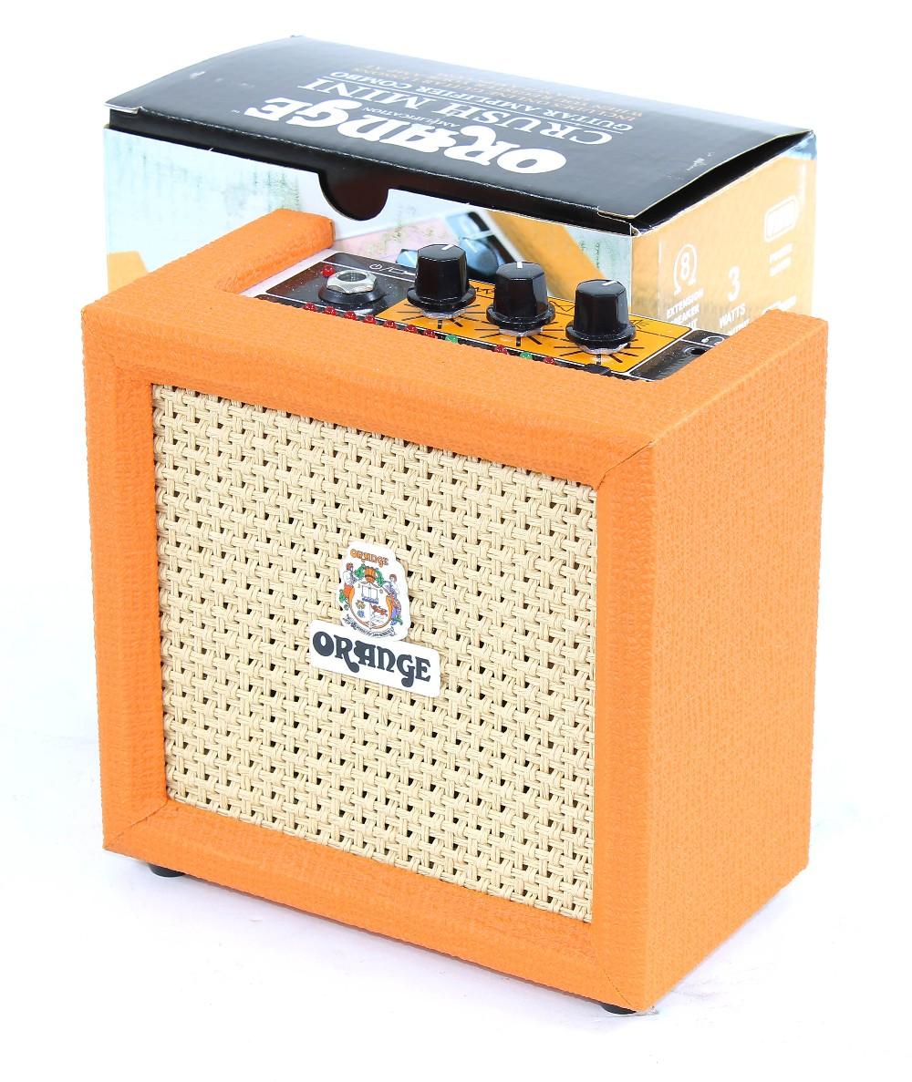 Orange Crush Mini guitar amplifier, boxed
