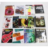 Good selection of jazz and other tuition books to include Berklee Press Modern Method for Guitar