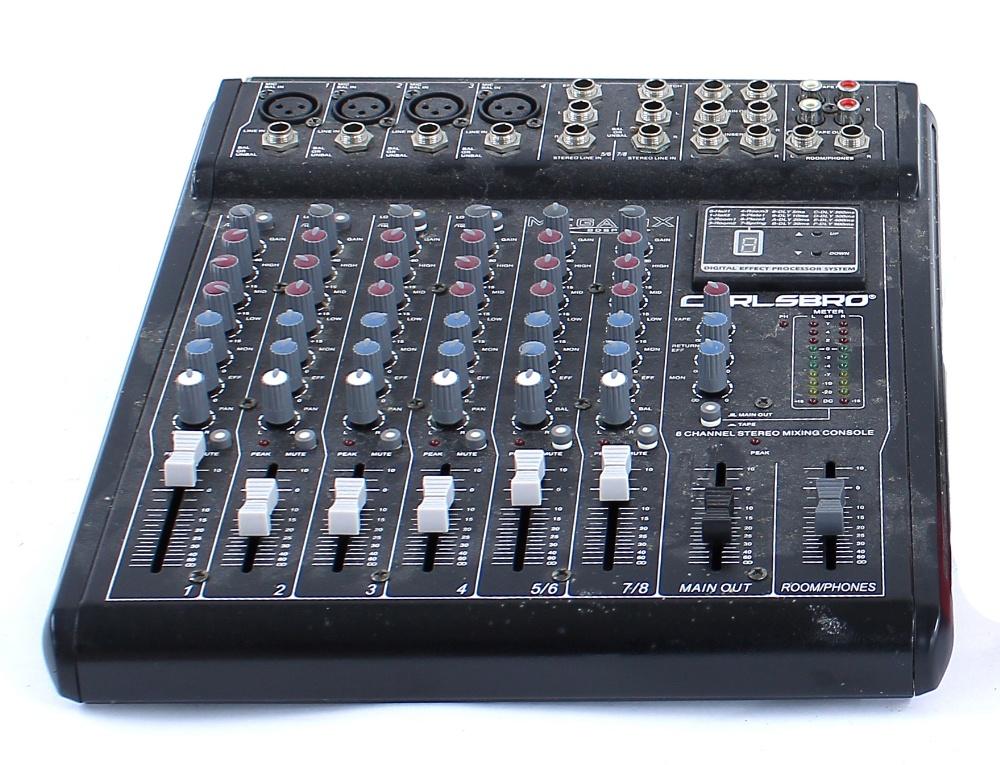 Carlsbro Megamix 8DSP mixer