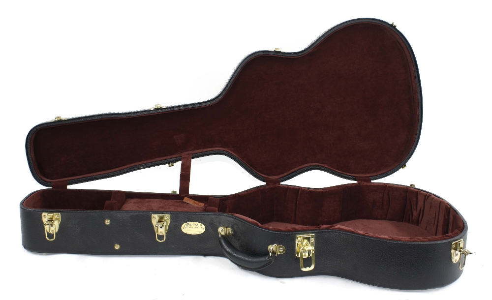 C.F. Martin & Co TKL Geib style guitar hard case for an OM size guitar
