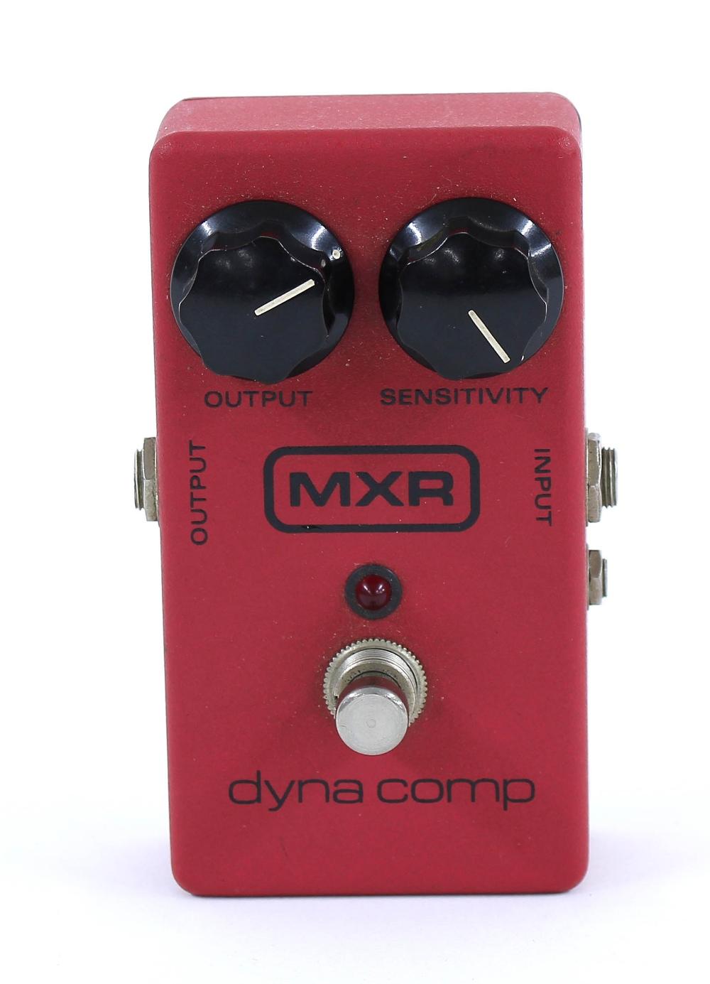 MXR Dyna Comp compressor guitar pedal
