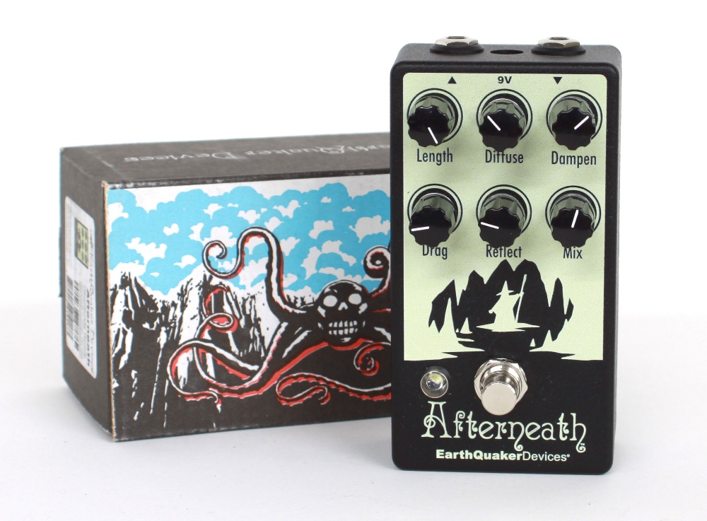 New and boxed - Earthquaker Devices Afterneath Otherwordly reverb guitar pedal