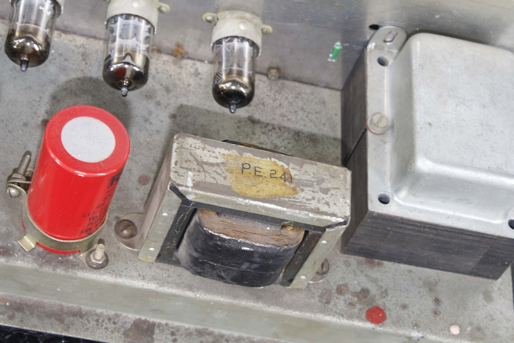 Vox AC30 guitar amplifier, made in England, circa 1964, copper top panel, re-covered, enclosing - Image 7 of 7