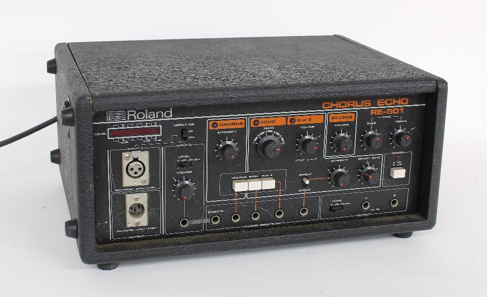 Roland RE-501 Chorus Echo unit, made in Japan, ser. no. 207207