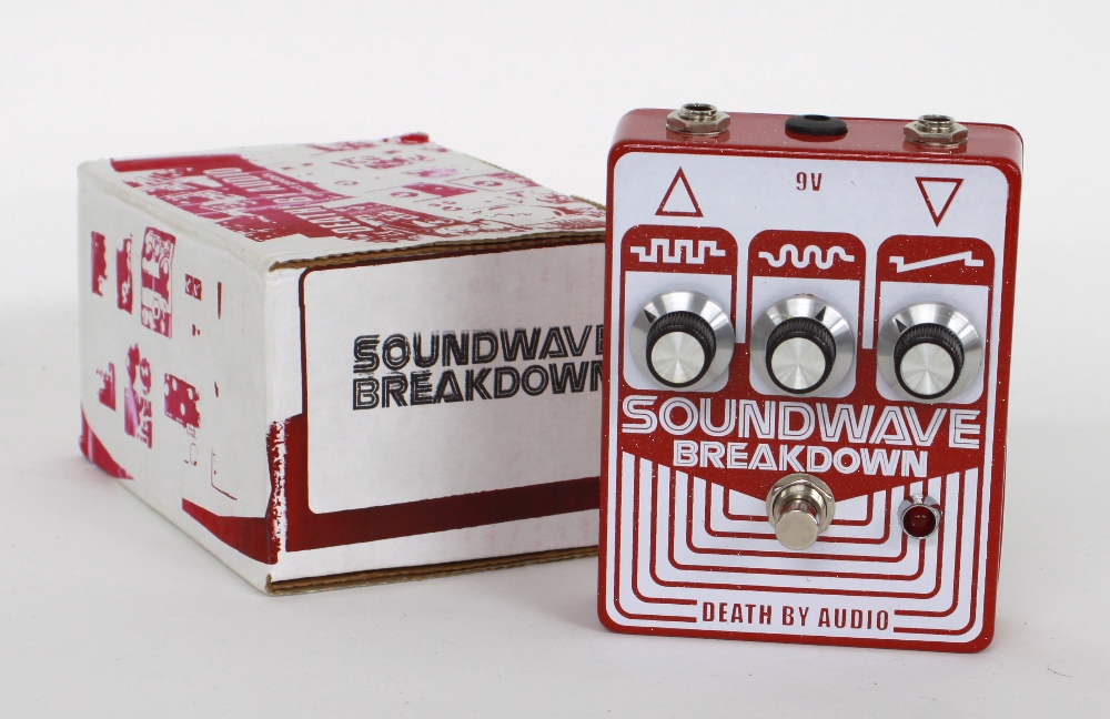 New and boxed - Death by Audio Soundwave Breakdown guitar pedal