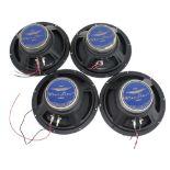 """Four Ashdown Blue Line 10"""" guitar amplifier speakers"""