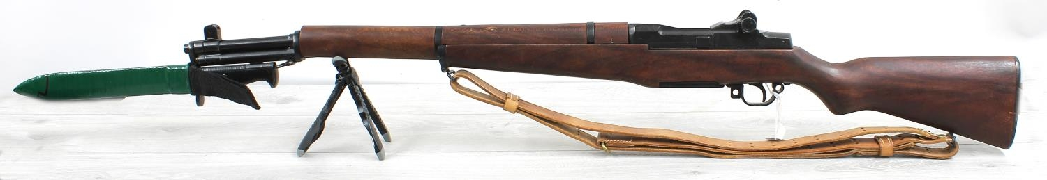 """Denix Spanish reproduction rifle with bayonet, 53"""" long overall"""