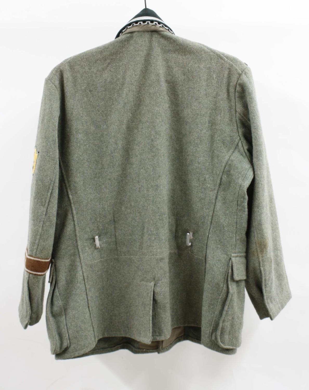 Replica German Feldgendarmerie Military Police uniform jacket,with badges and Gorget - Image 2 of 2