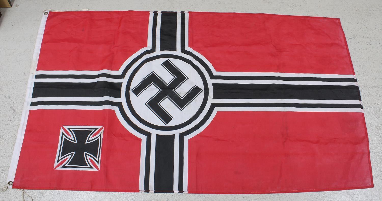 "Nazi Kreigsmarine flag,60"" x 35"""