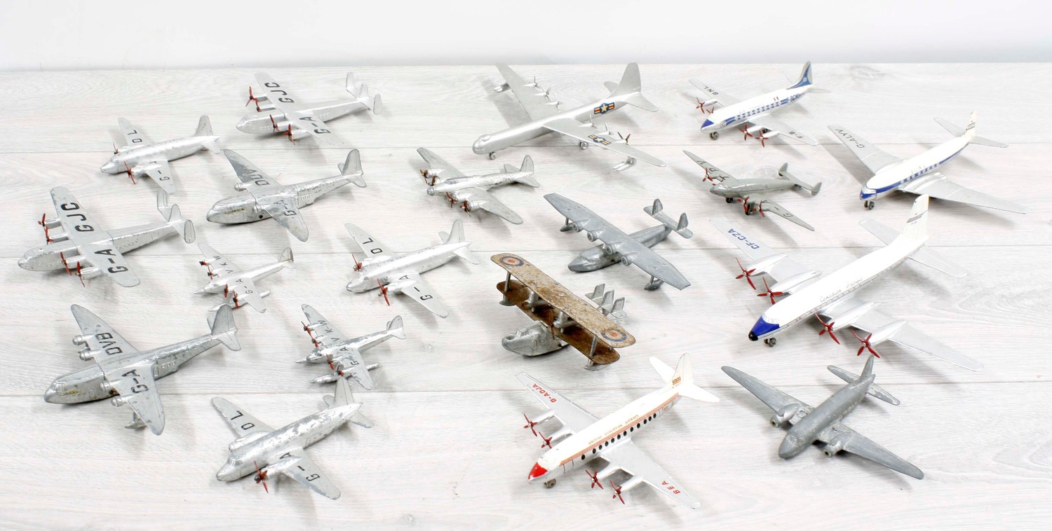 Dinky Toys - collection of diecast model aircraft