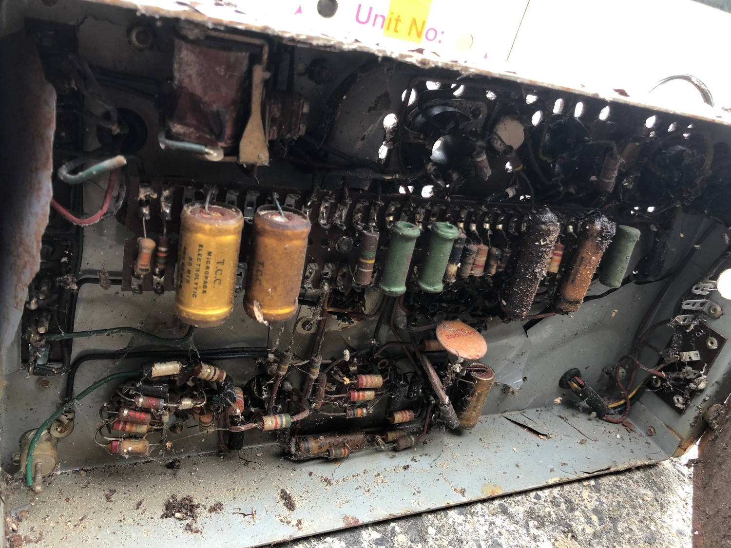 """Rare 1950s Bal-AMi 200 Jukebox in """"Barn Find"""" condition and in need of complete restoration, - Image 26 of 27"""