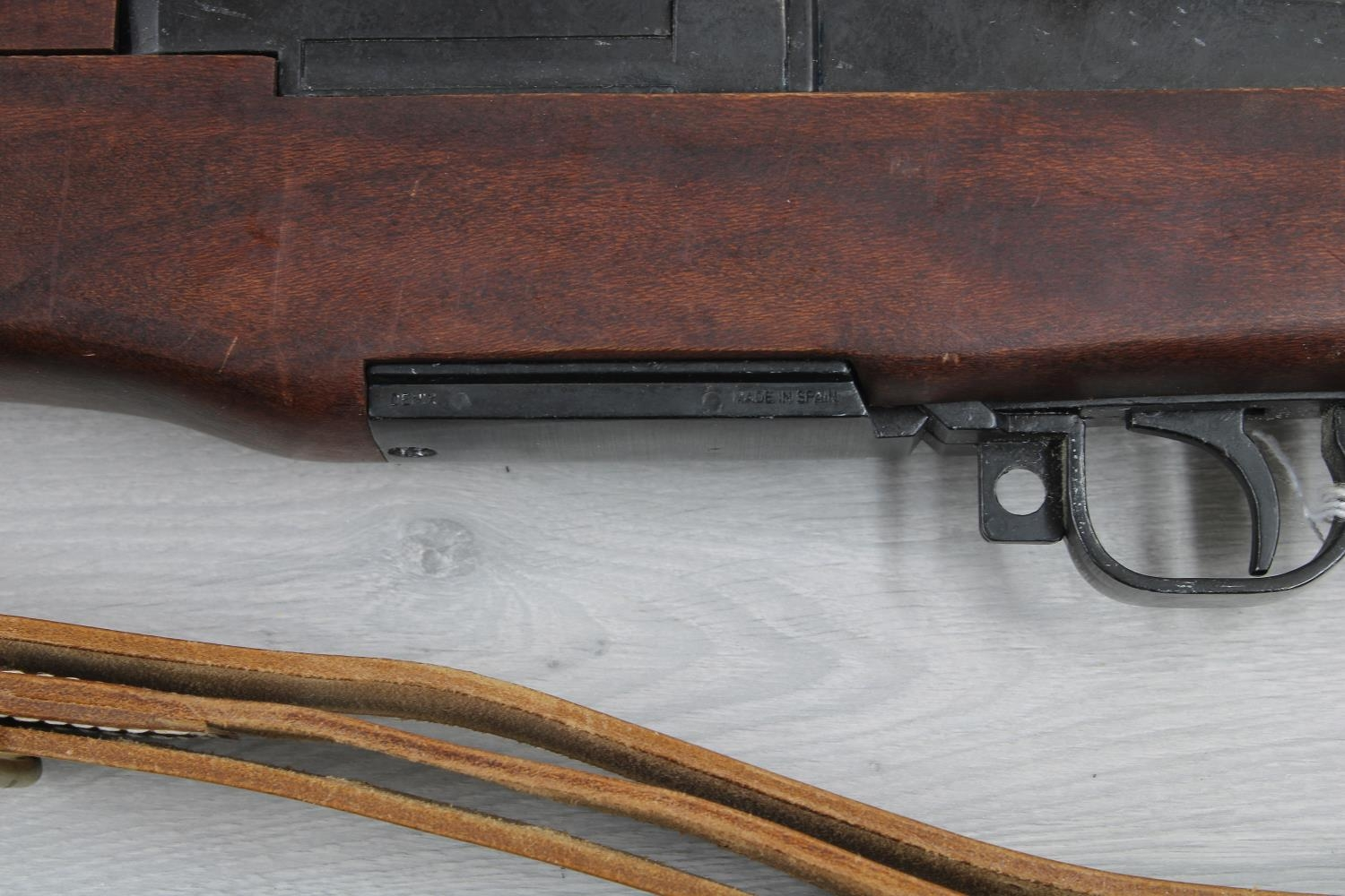 """Denix Spanish reproduction rifle with bayonet, 53"""" long overall - Image 2 of 2"""