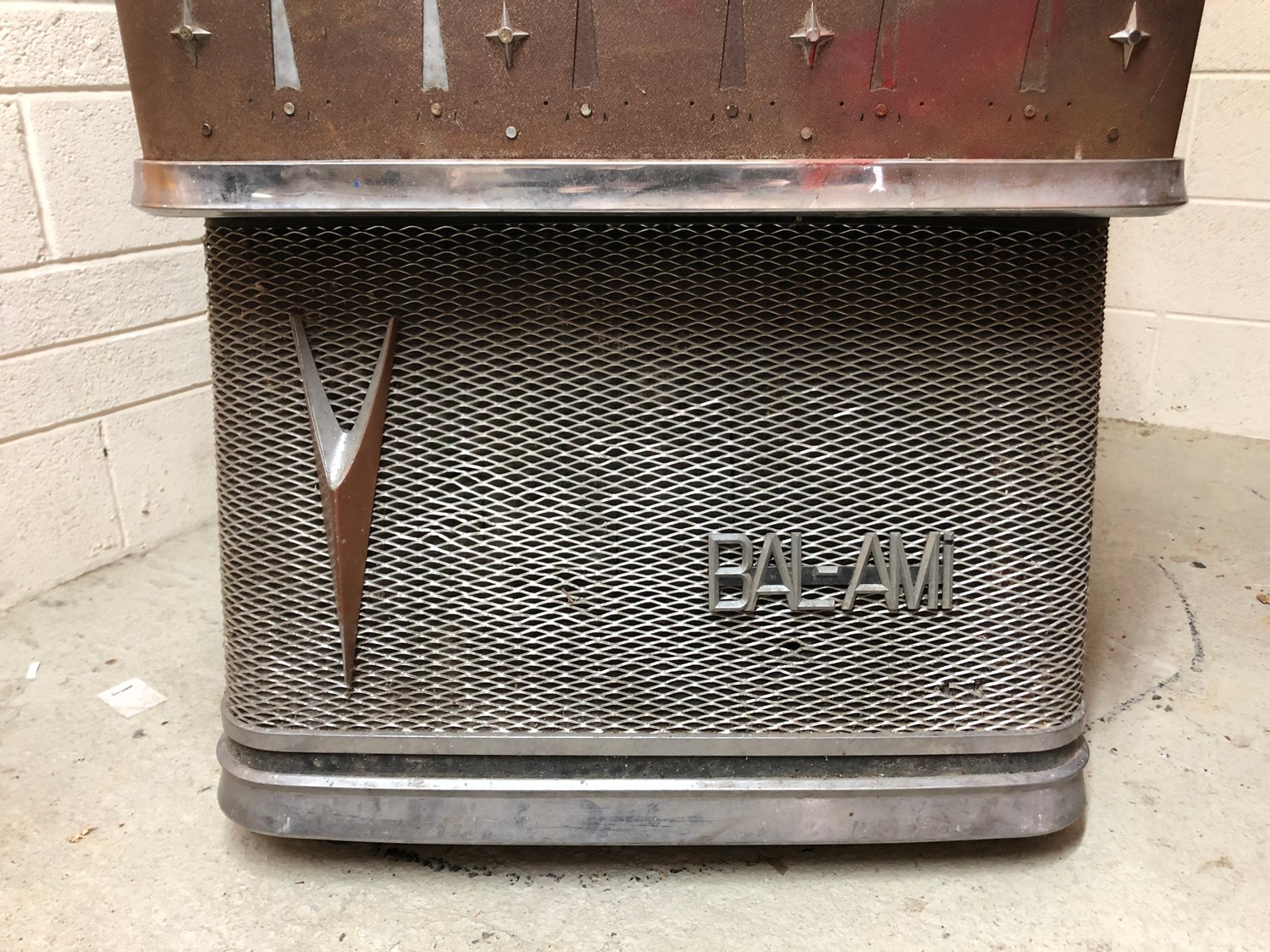 """Rare 1950s Bal-AMi 200 Jukebox in """"Barn Find"""" condition and in need of complete restoration, - Image 5 of 27"""