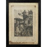 After Albrecht Durer (possibly 16th century) -'The Nativity', numbered 72 or 12 within the plate,